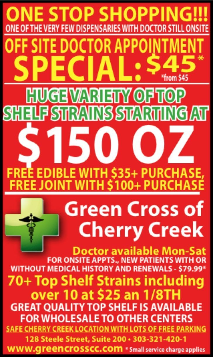 Green Cross of Cherry Creek