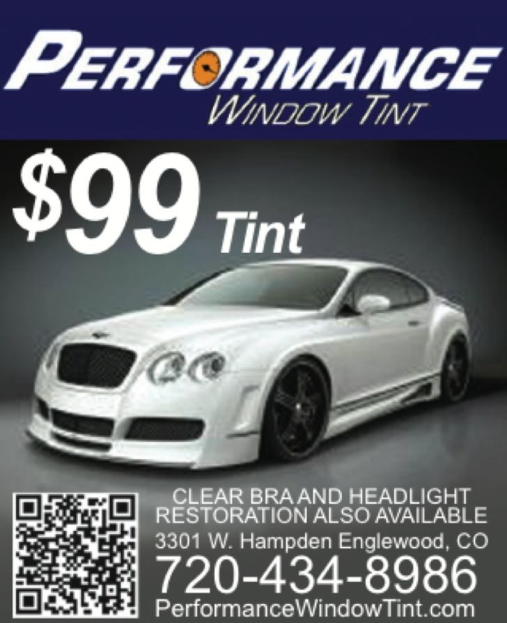 Performance Window Tint