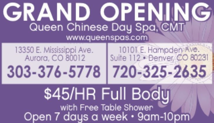 Queen Chinese Day Spa LLC