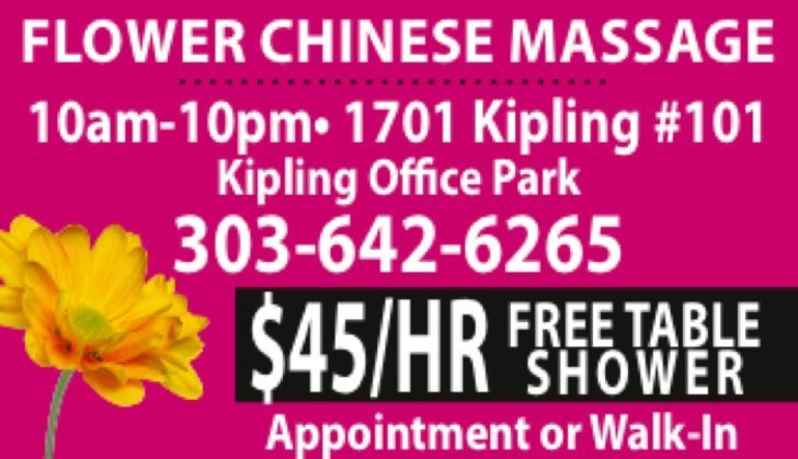 Flower Chinese Massage