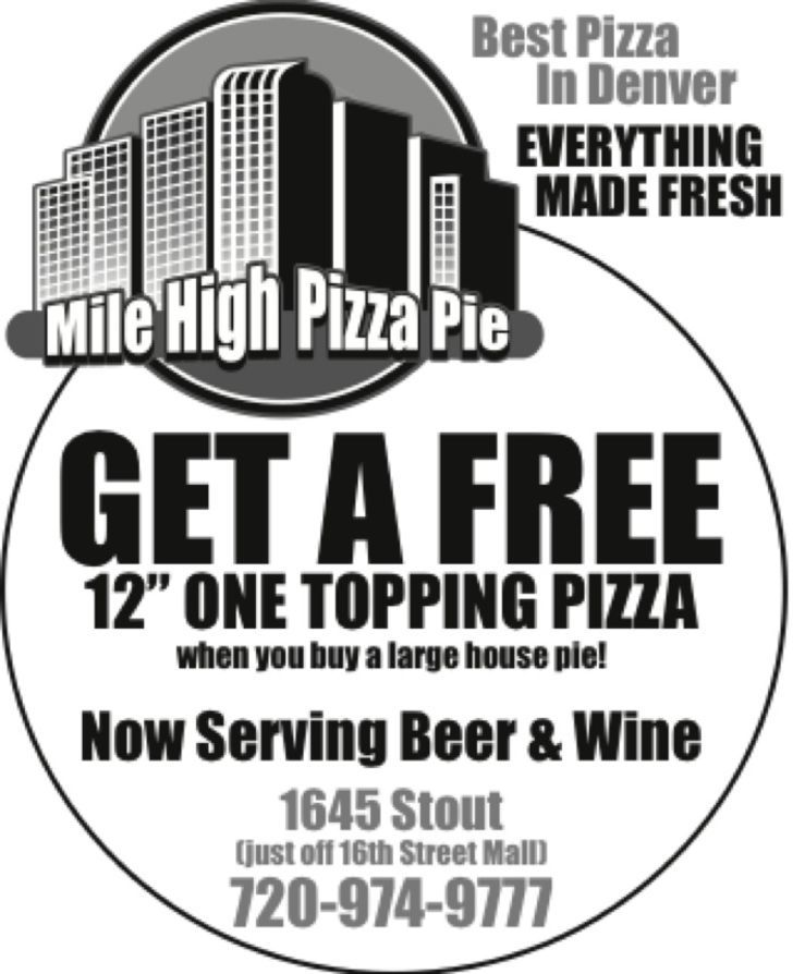 Mile High Pizza Pie