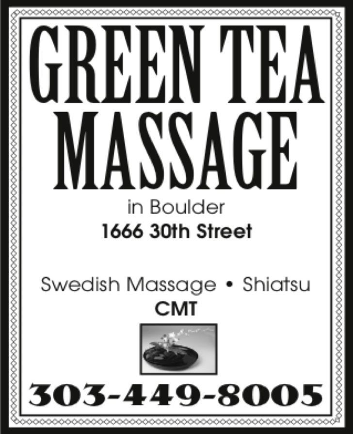 Green Tea Massage