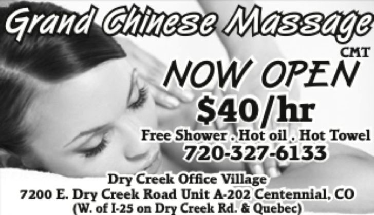 Grand Chinese Massage