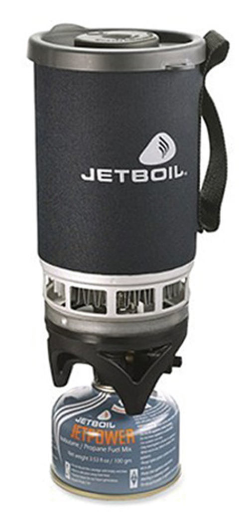 You won't sweat being camp cook with the Jetboil Personal Cooking System.