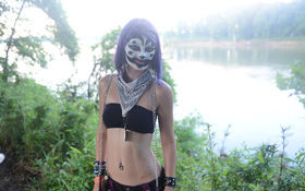 Thumbnail for The Lovely Juggalettes of the 2013 Gathering (NSFW)