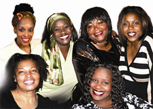 The cast of Sista¹s and Storytellers.