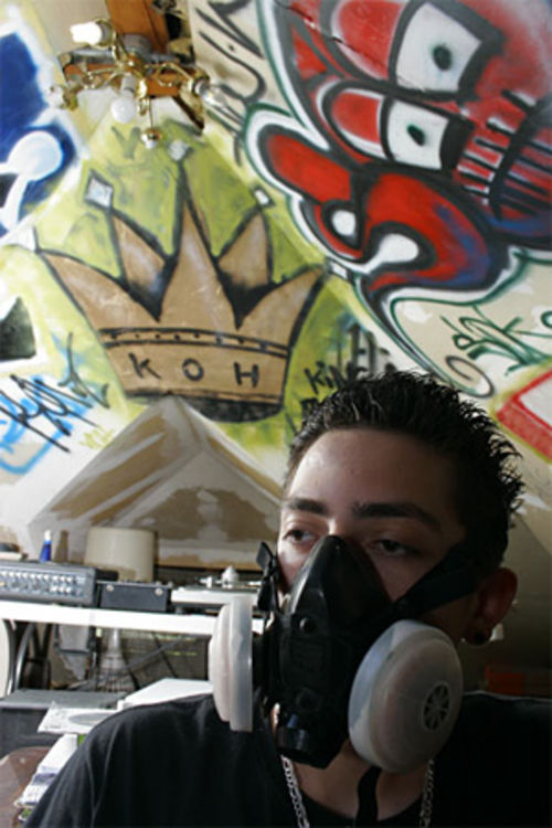 "ERA is ""getting up"" in Denver's graffiti world."