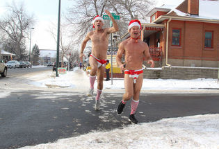 The Denver Santa Speedo Run
