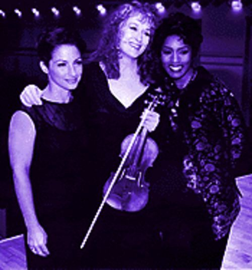 They've got pluck: Gloria Estefan, Meryl Streep and Angela Bassett make Music of the Heart.