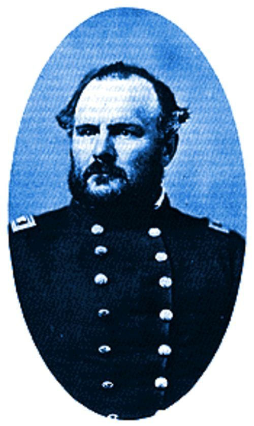 Sands of time: Colonel John Chivington.
