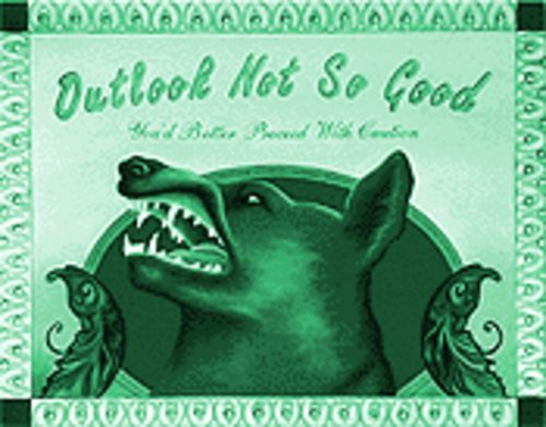 "Luck of the draw: Riva Sweetrocket's ""Outlook Not So Good."""