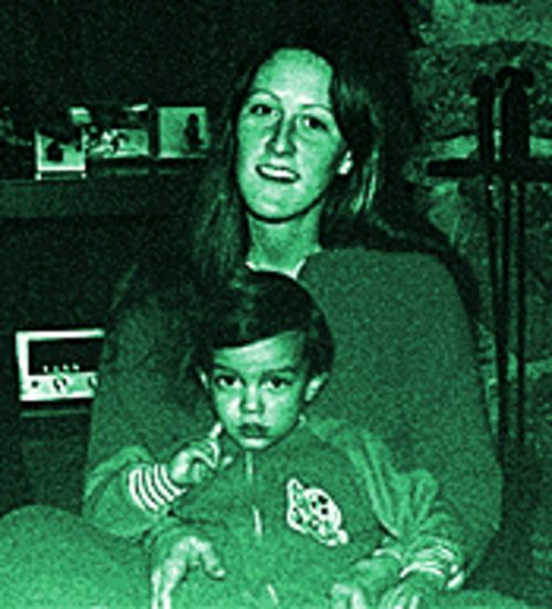 The murder of Melanie Tope, shown with young Josh below, was one of many early tragedies.