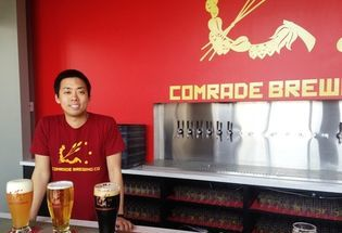 Comrade Brewing starts the Party