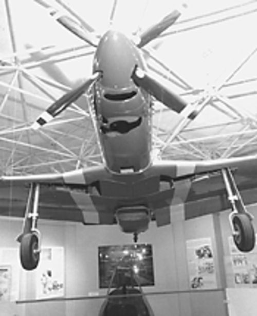 The Aurora History Museum salutes the Tuskegee Airmen through April 15.