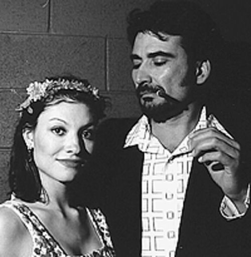 Elizabeth Botello and Jesse Ogas in El Sol Que Tú  Eres.