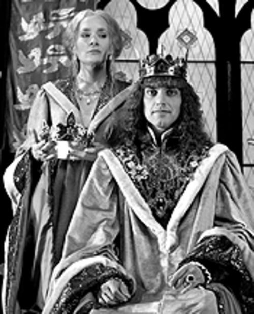 Gloria Biegler and Richard Haratine in Queen Margaret.