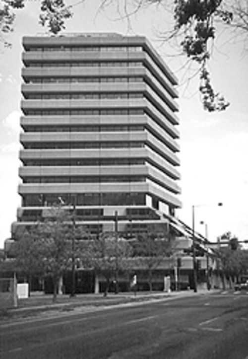 The Terracentre tower.