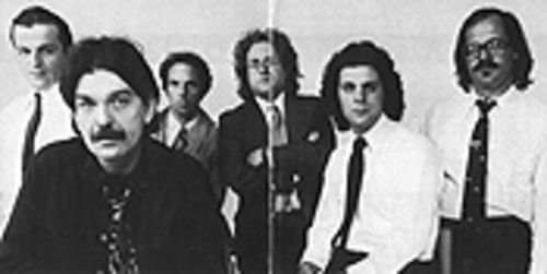 Tepper (second from right) with Captain Beefheart and the Magic Band in 1980.