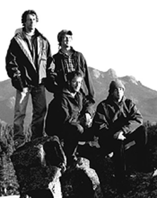 The Yonder Mountain String Band is sittin' on top of the world.