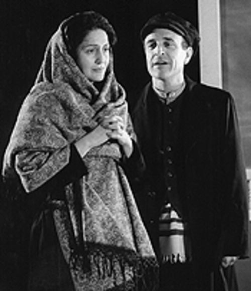 Jacqueline Antaramian and Adam Heller in The Immigrant.