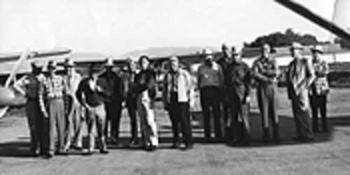 The wild blue yonder: The Longmont Flying Ranchers then (Cole Kugel is ninth from the left).