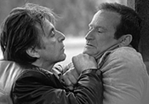 Gotcha: Al Pacino and Robin Williams discover how close they really are in Insomnia.