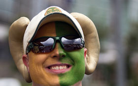 Thumbnail for CSU and CU Face Off at the 2014 Rocky Mountain Showdown