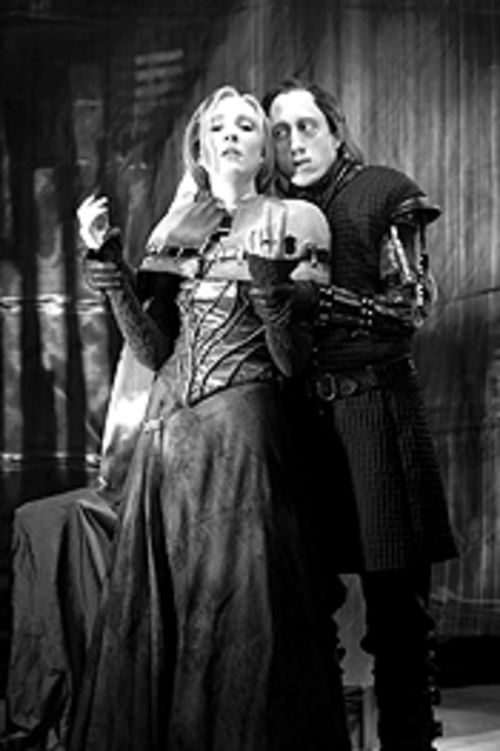 Sheryle Wells and Chip Persons in Richard III.