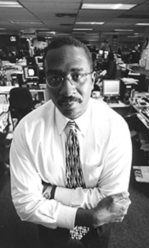 Taking charge: Denver Post editor Greg Moore.