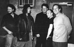 Players in Zen: Stephen Perkins (second from right) with one incarnation of Banyan.