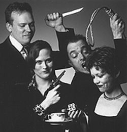 J. Heston Gray, Kristine Ryker, Ron Mediatore and Susan Lyles in Accomplice.