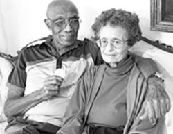 True gold: Jerome and Beverly Biffle.