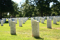 Fort Logan has been the site of military burials for more than a century.