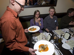 The recent Slow Food dinner at Arugula was a delicious learning experience.