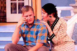 Brian Landis Folkins and Rachel Bouchard in A Touch of Spring.