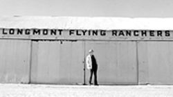 Cole standing in front of the hangar today.