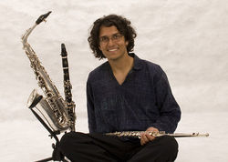 Sax in the  ctiy: Aakash Mittal does a masterful job of channeling the streets of India on his new disc.