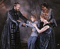 Stephen Weitz, Kyle Lewis, Bridgit Antoinette Evans  and Aimee Phelan-Deconinck in The Winter's  Tale.