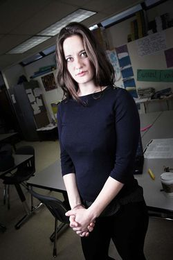 "Alison Corbett thinks her students ""will go off and really make waves."""