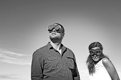 Artners: John Common and Jess DeNicola of John Common & Blinding Flashes of Light.