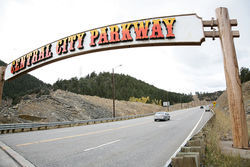 The four-lane Central City Parkway was designed to bring more traffic to the streets of Central City.