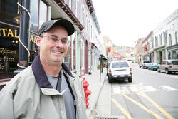 Former Central City mayor Buddy Schmalz runs Dostal Alley, a local hangout.