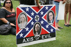 Arizonans protesting SB 1070.