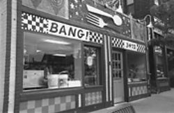 The colorful fare at Bang! lives up to the promise of its playful exterior.