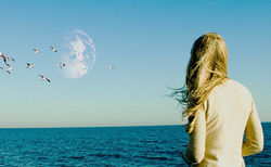 Brit Marling stars in Another Earth.