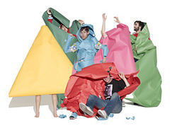The members of Architecture in Helsinki are wrapped up in themselves.