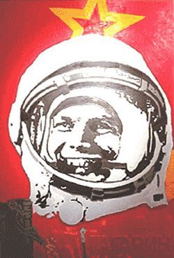 Yuri Gagarin gets a new look.