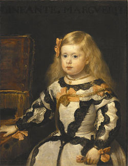 """The Infanta Margarita,"" by Velázquez, oil on canvas."