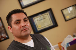 Eduardo Beckett, attorney for the El Paso nonprofit Las Americas Immigrant Advocacy Center is leading the legal battle to help innocent Mexicans caught up in the drug violence gain asylum and protection in the United States.