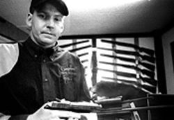 Rich Wyatt, a range-team technical advisor for the 